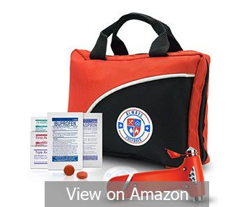 Ultra-Light & Small 126-Piece First Aid Kit