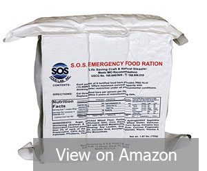 SOS Food EMERGENCY 3600 Calorie Food bar