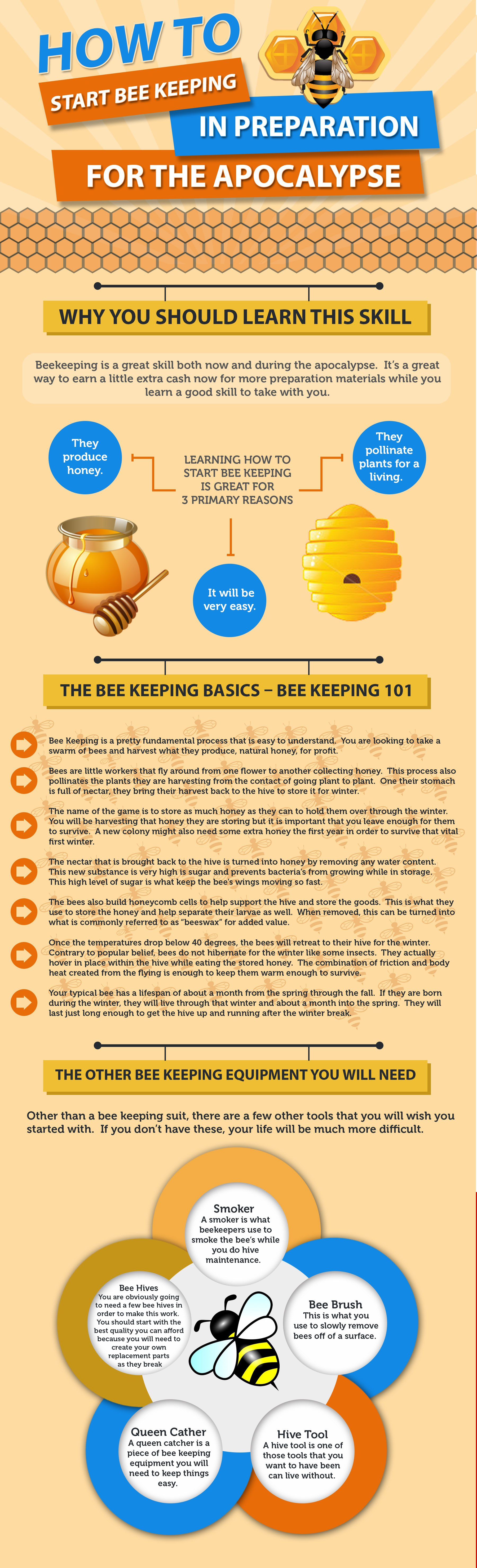Beekeeping could greatly improve your quality of life