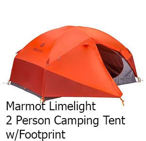 2 Person Camping Tent w/Footprint
