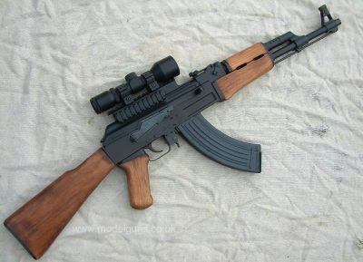 AK-47 Zombie Weapon Long Range 5