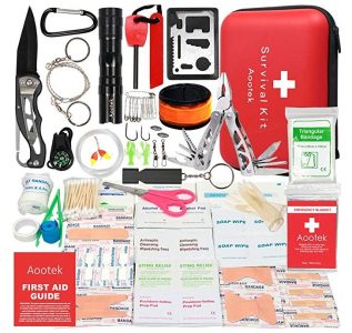 Aooptek First Aid Survival Kit