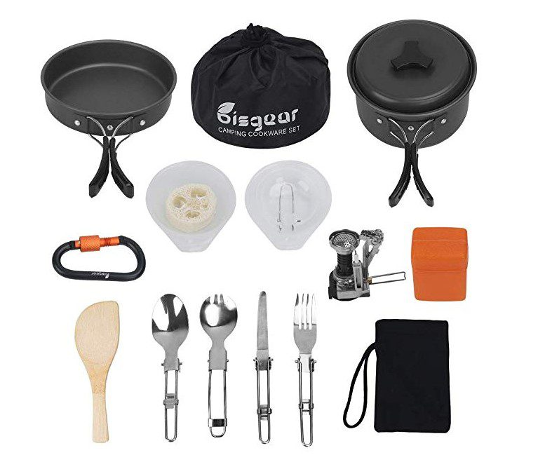 Bisgear 16 pcs Camping Stove Canister