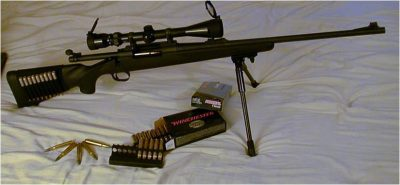Remington M700 30-06 Zombie Weapon Long Range
