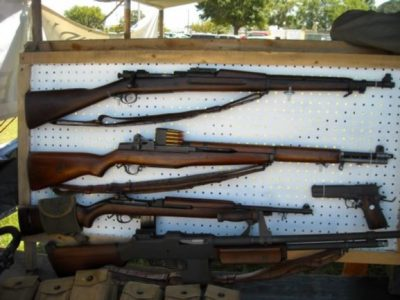 Army Rifles From WW2