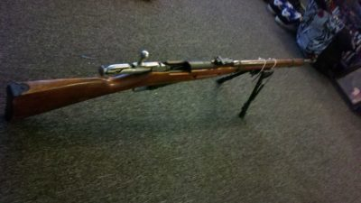 Zombie Weapon Mosin Nagan Rifle