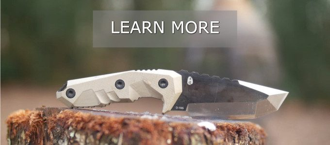 Outdoor D2 Knife Banner